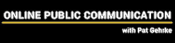 Online Public Communication